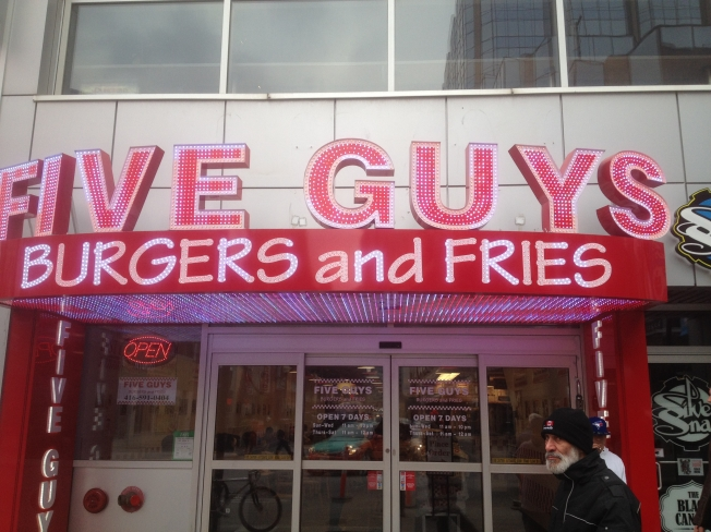 Their Yonge & Dundas location