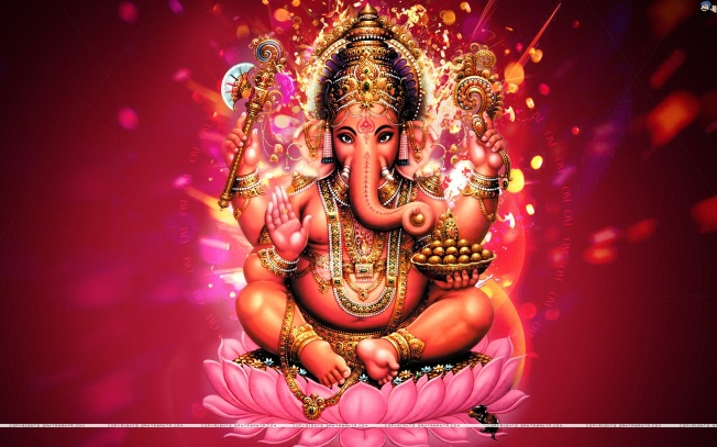 Ganesh - god of wisdom, prosperity and good fortune