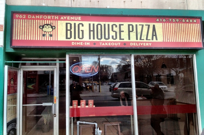 Big House Pizza exterior