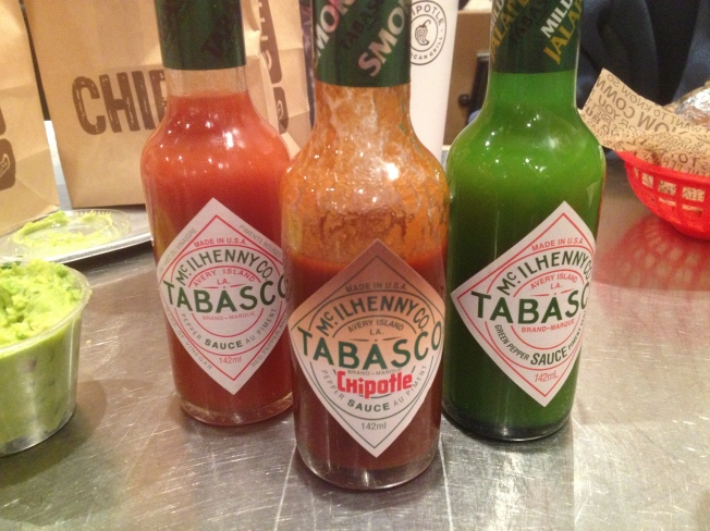 We have got to find that smoked Chipotle tabasco for home